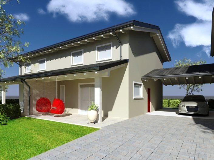 Villa 2 – Render Esterni